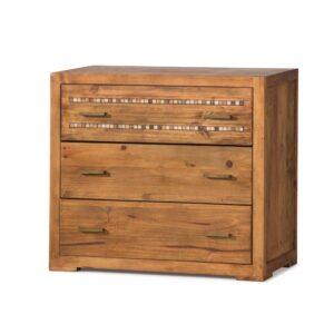 cómoda de madera con mármol
