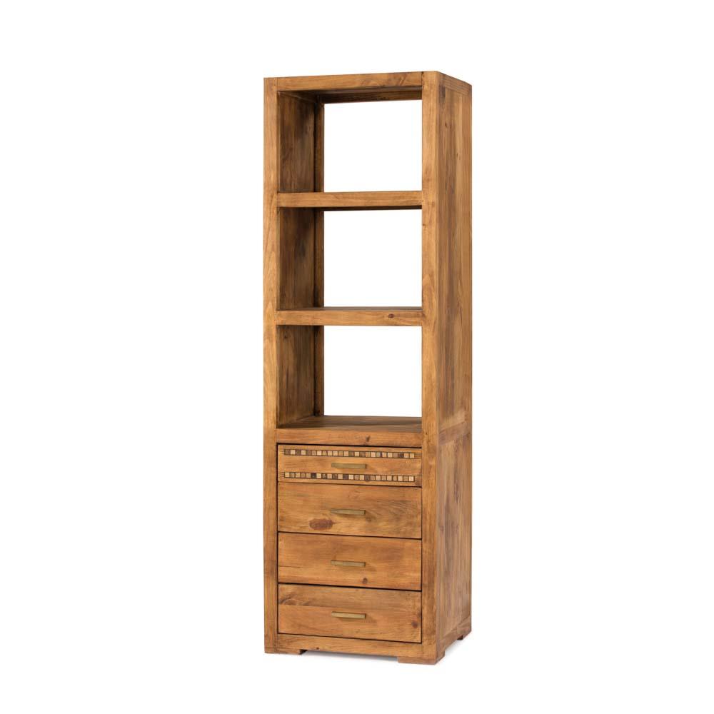 Librero r stico myoc f brica de muebles r sticos 100 - Fabrica muebles madera ...