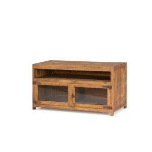 mueble televisión de madera