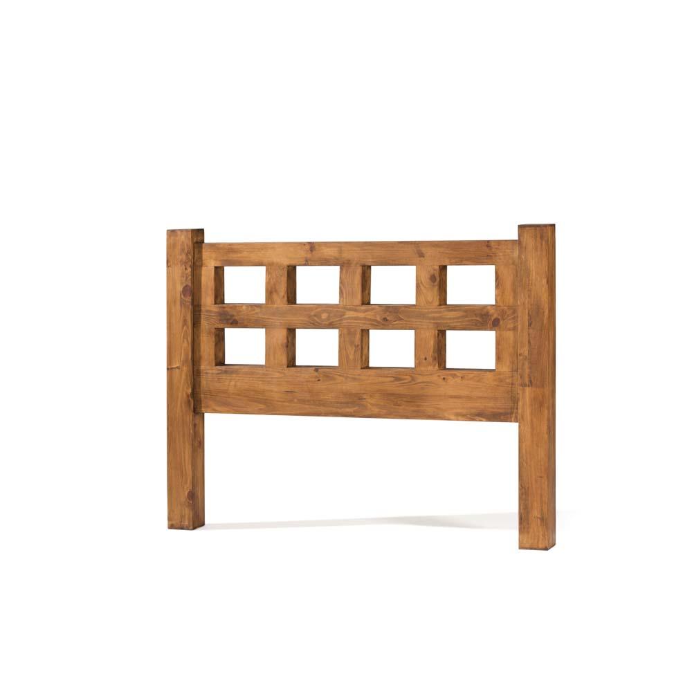 cabecero de madera maciza