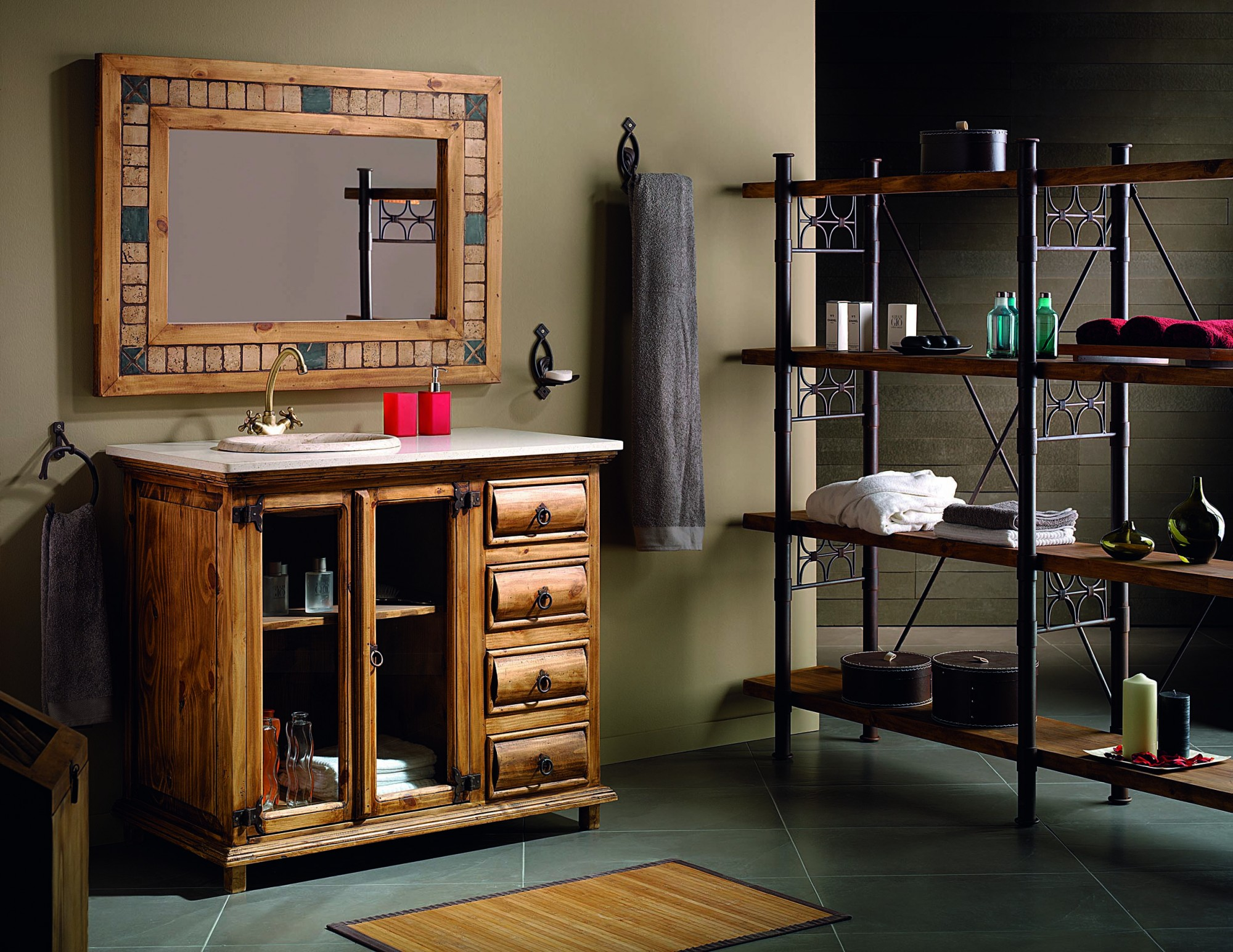 Muebles r sticos de madera maciza baratos online for Muebles de madera baratos online
