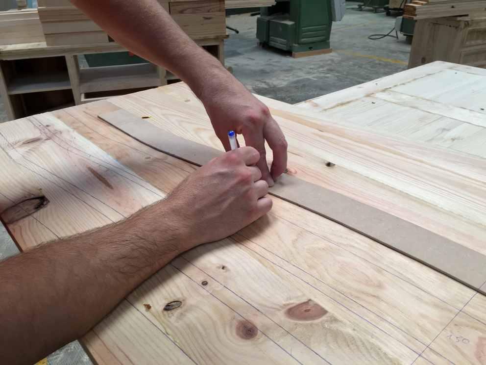 muebles fabricados a mano