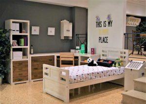 fábrica muebles rúticos dormitorio juvenil