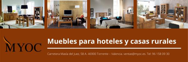 muebles para hoteles y casas rurales