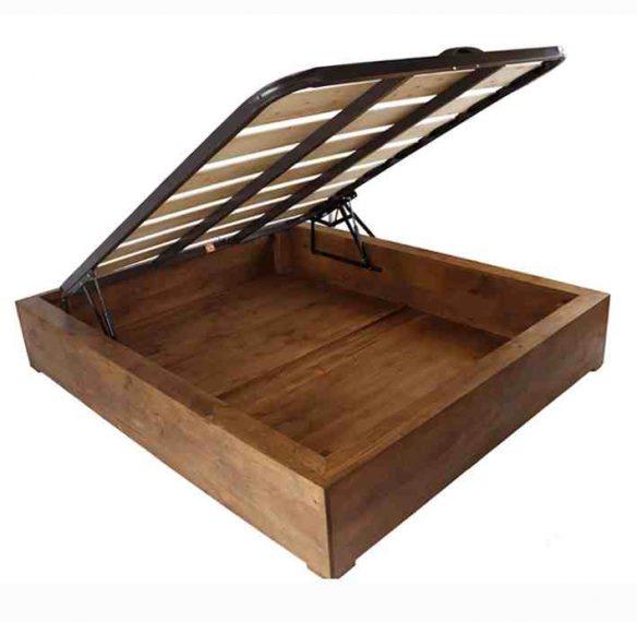 canapé-de-madera-rústica